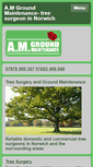 Mobile Preview of amgroundmaintenance.co.uk