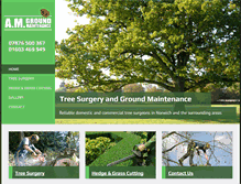 Tablet Preview of amgroundmaintenance.co.uk